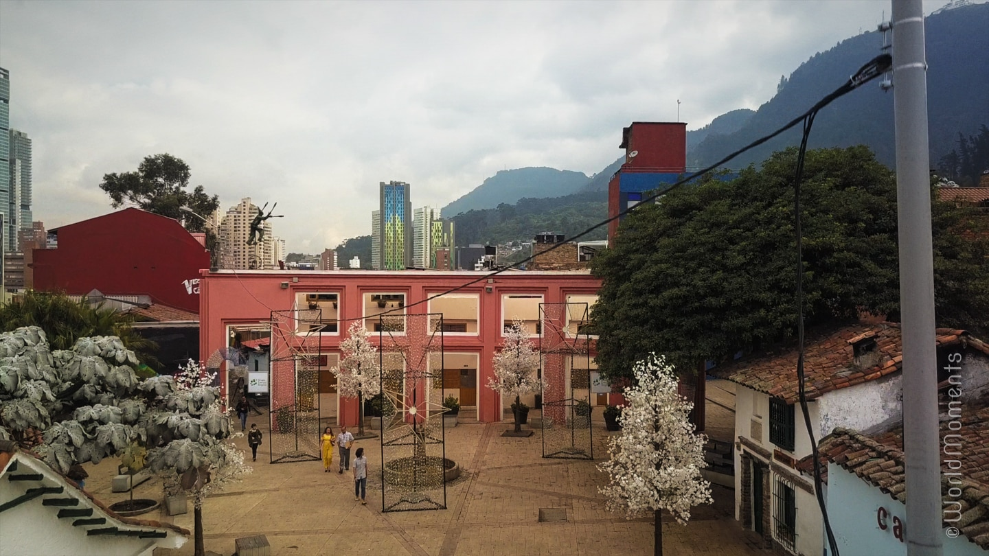 La Candelaria Bogota - El Chorro: Preferred spot of the Bohemians