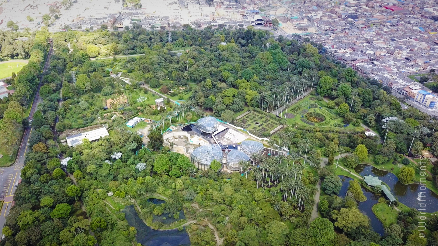 What to do in Bogota - Botanical Garden: the largest botanical garden in Colombia