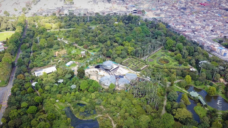 Que hacer en Bogotá - Jardín Botánico: Es el jardín botánico más grande de Colombia