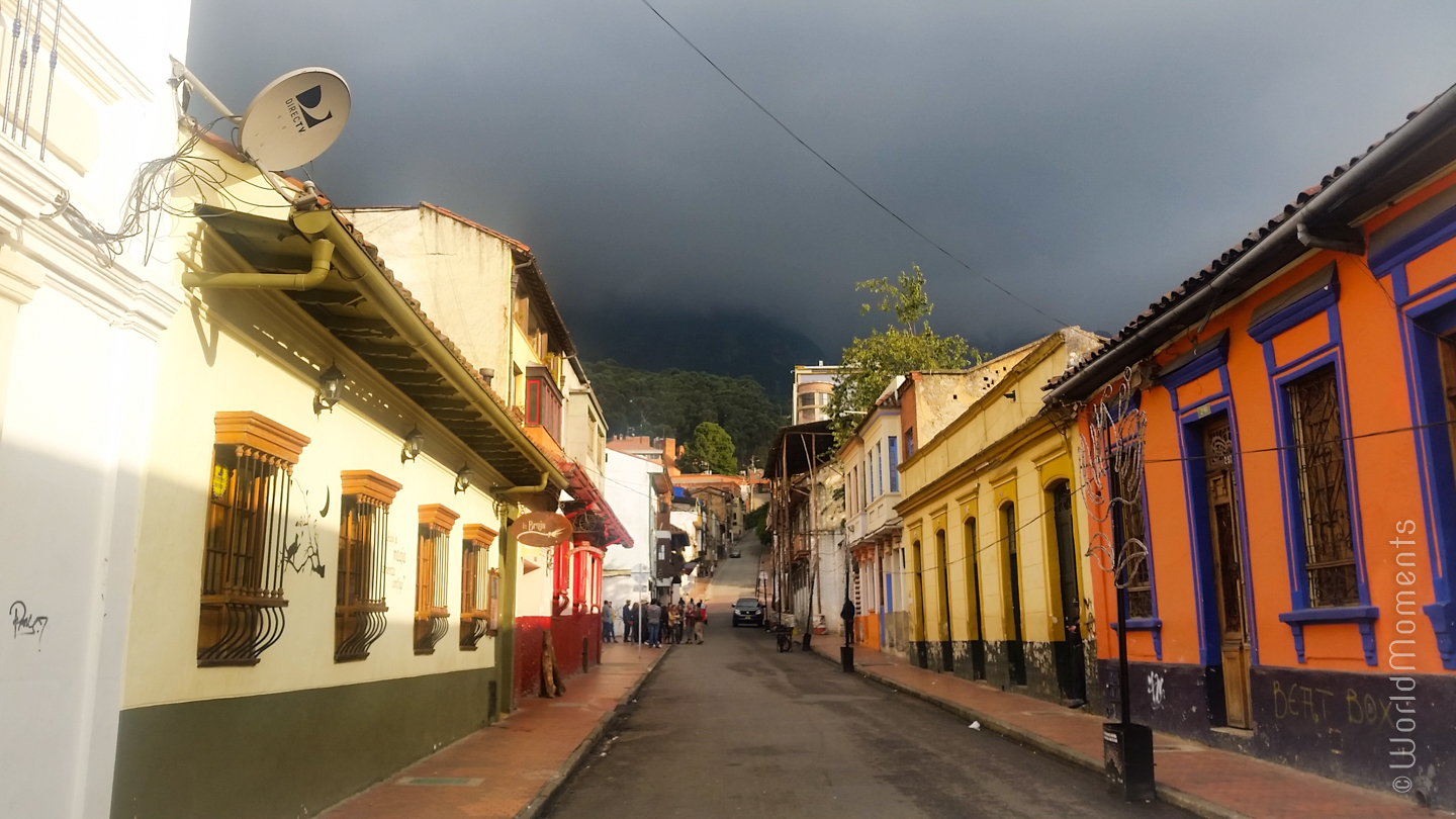 Bogota tourism - La Candelaria: In the last several years La Candelaria has been the preferred spot of the majority of tourists