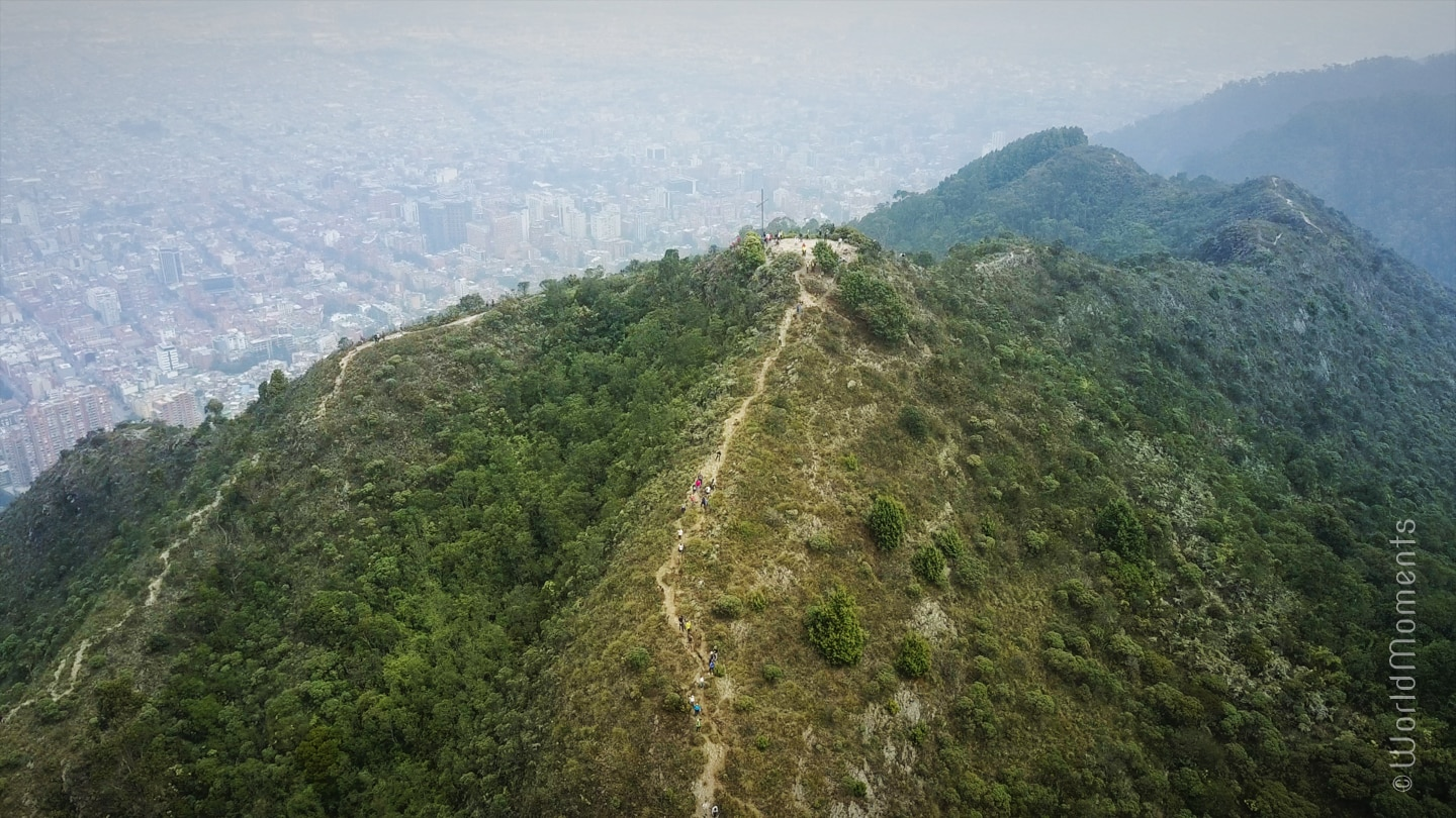 What to do in Bogota - The Old Stream Lookout: A beautiful hike with fresh air and a view