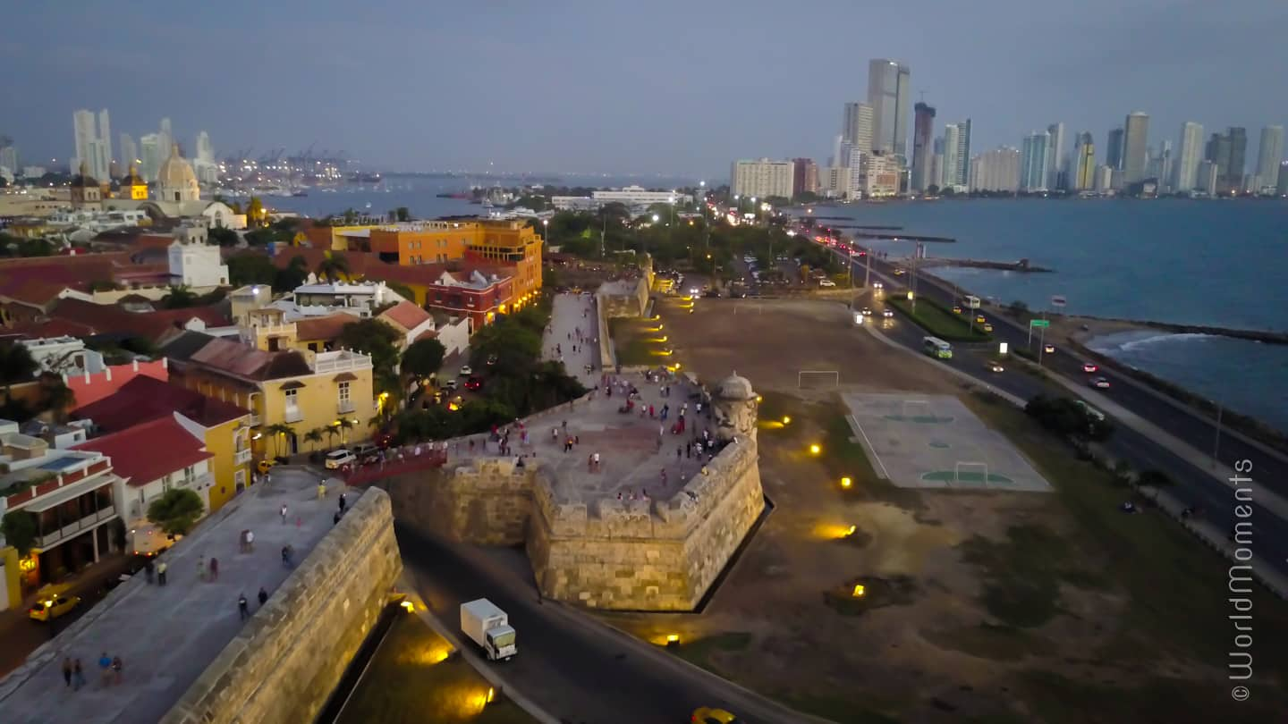 Things to do in Cartagena - Baluarte de Santo Domingo: Part of Cartagenas historic walls