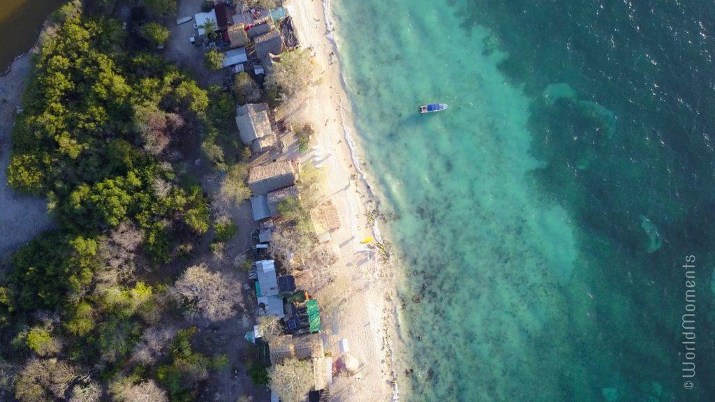 cartagena playa blanca baru drone