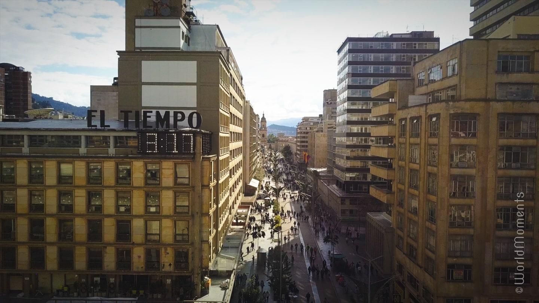 Que hacer en Bogotá - Avenida Séptima: Excelente lugar para dar un largo paseo lleno de arte, cultura y mucha diversión