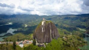 Guatape - The Penol: A giant rock