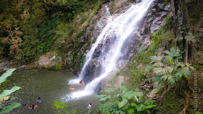 Santa Marta, Minca, Cascada Marinka
