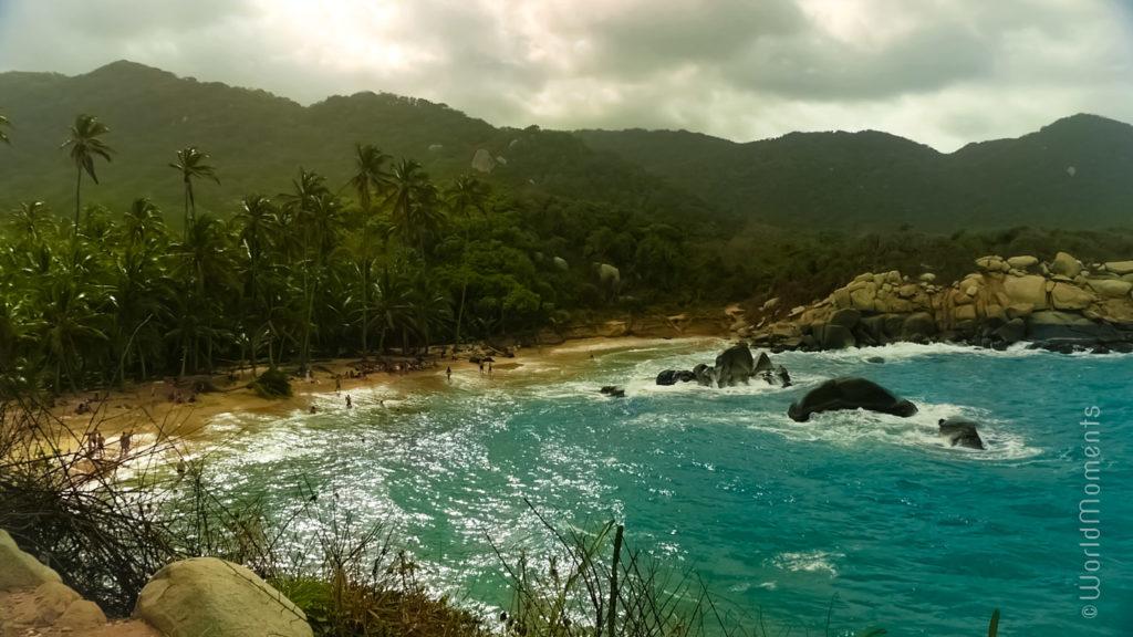 Santa Marta, Parque Tayrona, Playa del Capo