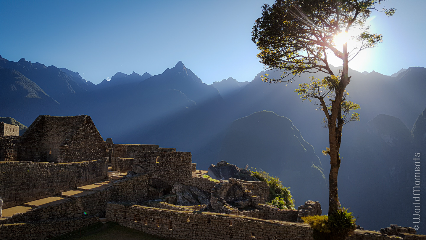 Machu Pichu at sunrise