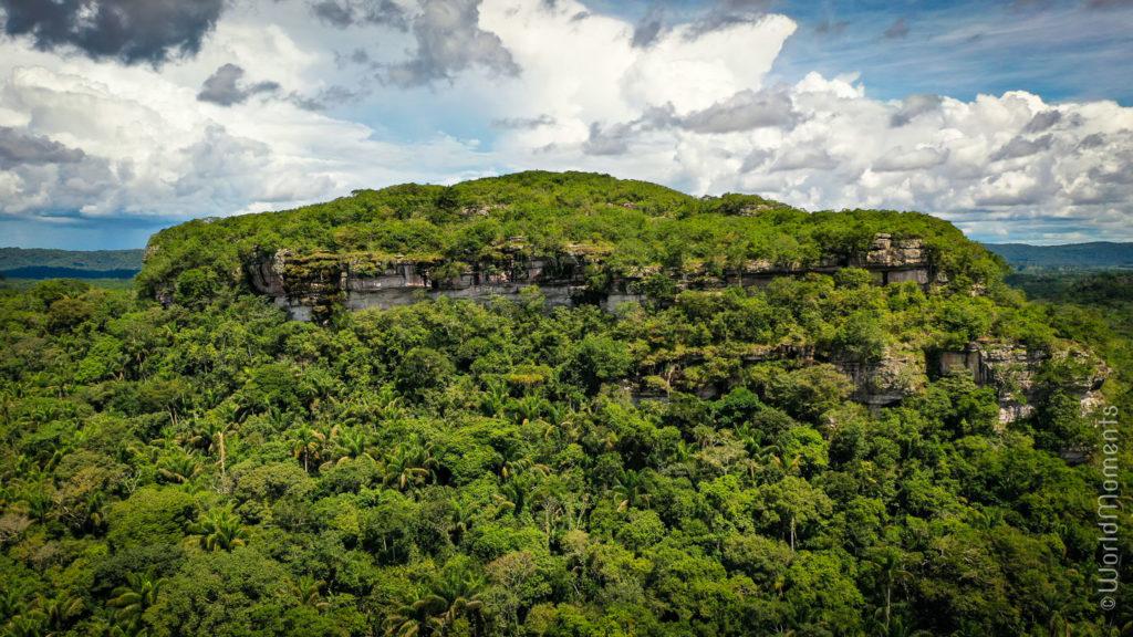 Cerro Azul landscape view