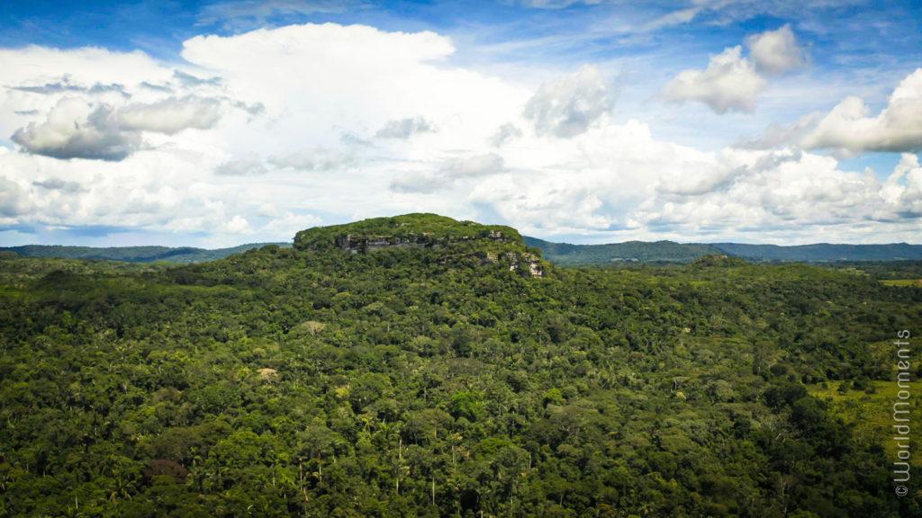 Cerro Azu mountain landscape