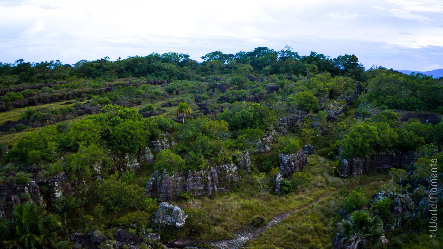 Ciudad de Piedra in San Jose del Guaviare landscape