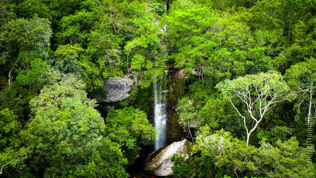 La Delicia waterfall landscape