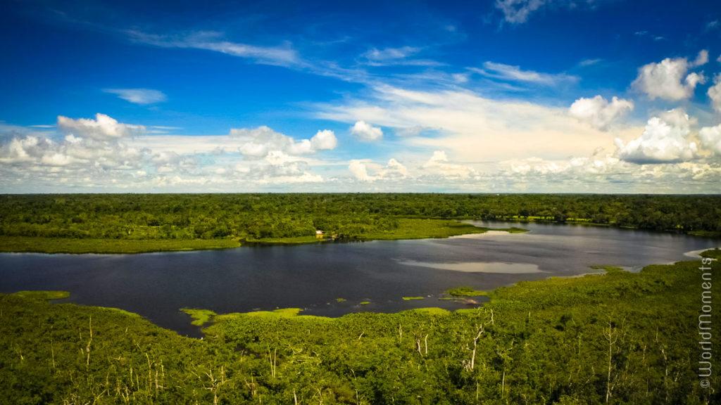 Laguna Negra in San Jose del Guaviare landscape