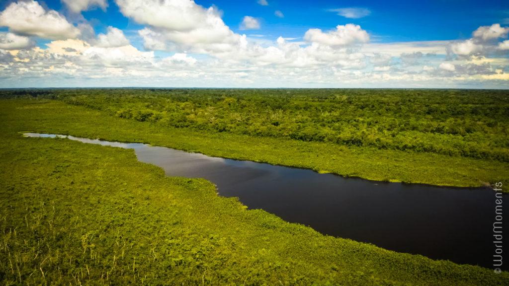 Laguna Negra in San Jose del Guaviare landscape view