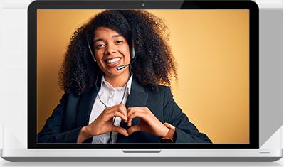 love learn spanish online girl