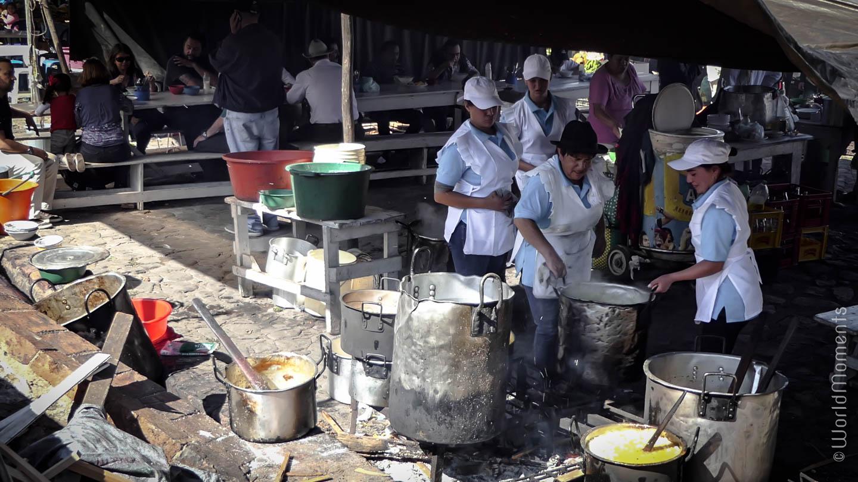 mercado semanal de Villa de Leyva